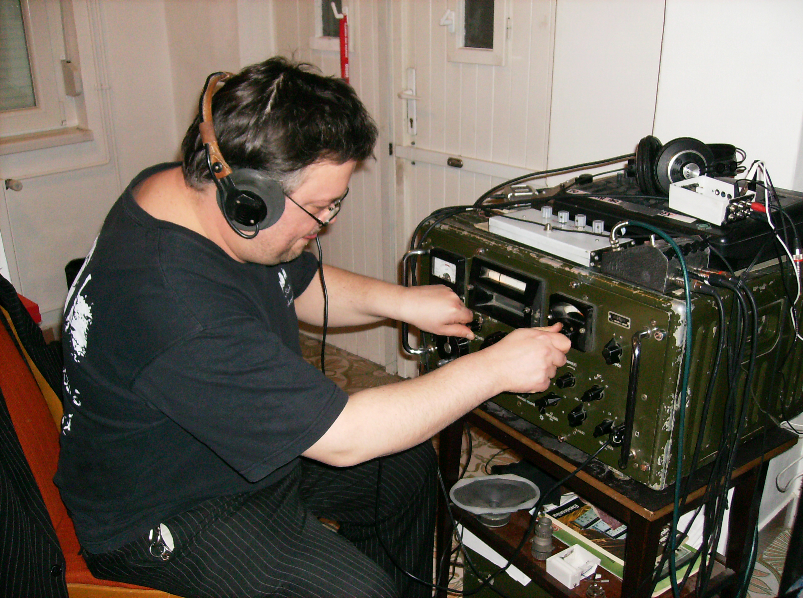 Radio amateur equipment russia
